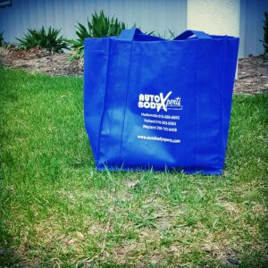 earth month reusable grocery bag