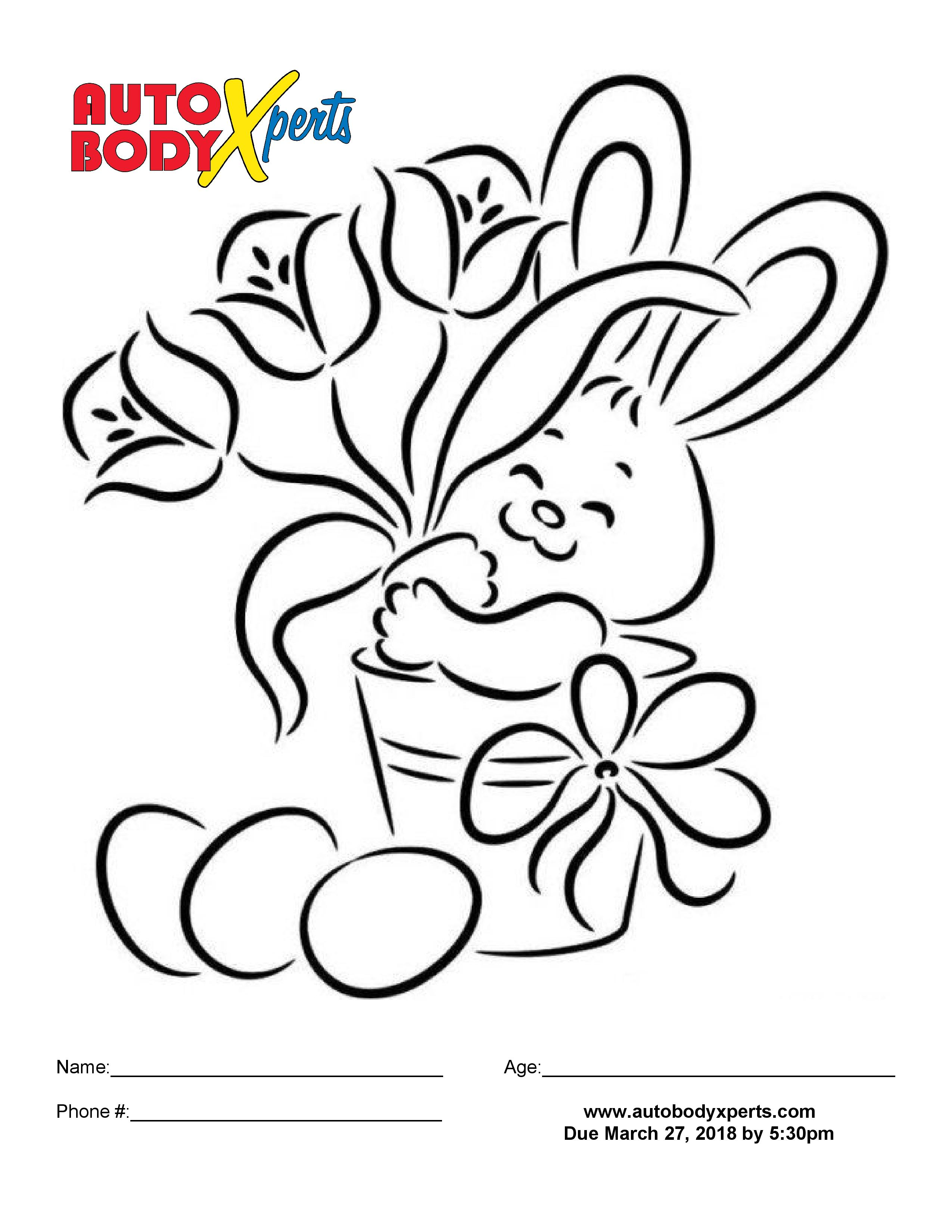 Easter Coloring Page-page-001