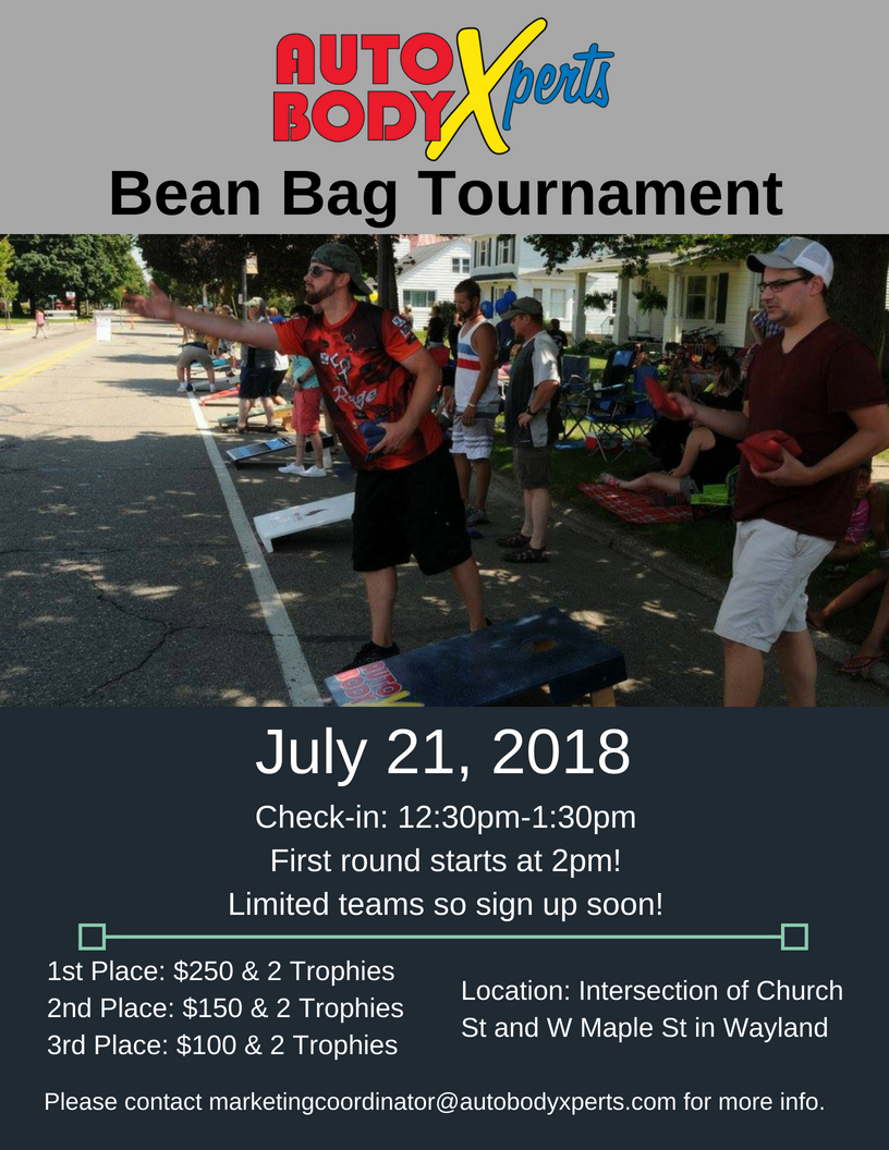 Copy of Bean Bag Tour Flyer